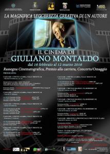 locandina retrospettiva sul cinema di Montaldo